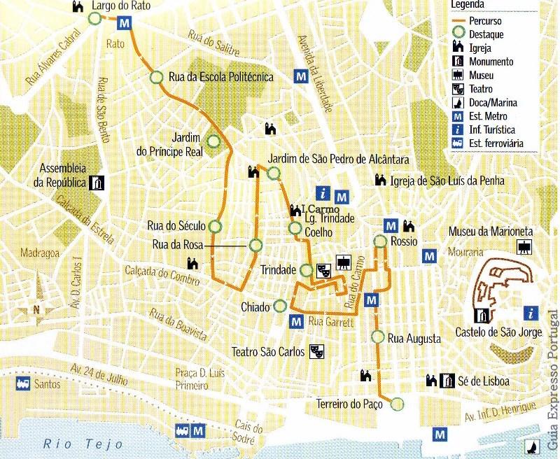 карта лиссабона на русском языке с достопримечательностями скачать - фото 7